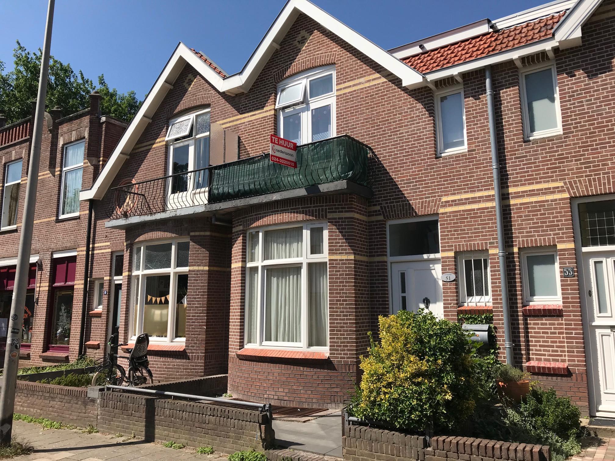 Studio tooropstraat te huur in nijmegen nederwoon for Te koop nijmegen oost